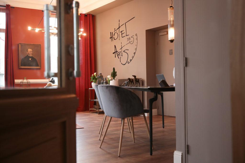 «Hôtel des Arts» website lauching